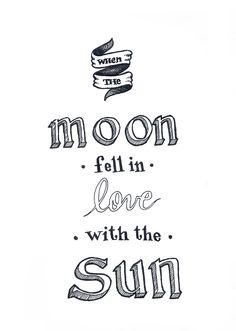 Panic! At The Disco - When the moon fell in love with the sun.