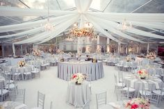 Arlington Hall at Lee Park. example of a tented patio dinner - gorg. #venue