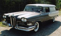 Edsel Roundup Wagon from Edsel Ford, Car Ford, Ford Trucks, Classic Motors, Classic Cars, Beach Wagon, Station Wagon Cars, Car Buyer, Ford Motor Company