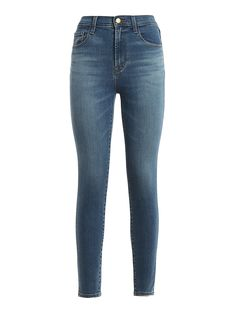 J BRAND LEENAH SUPER HIGH RISE JEANS. #jbrand #cloth High Rise Jeans, Fashion Branding, J Brand, Stretch Denim, Skinny Jeans, Medium, Pants, Clothes, Collection