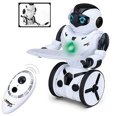 My son loves chasing his Great Dane around the house with this robot. He has spent hours tormenting his dog with this fun robot. This is very durable, the dog has knocked it over a few times trying to run away from it and it still works as good as it did when we first took it out of the box. #Brightly'sElite #Free