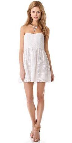 936dcaf22fd Loving this strapless Parker dress!