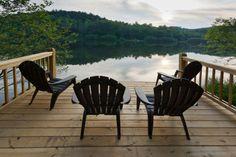 Lake Front Cabin - Ellijay GA - Blue Sky Cabin Rentals