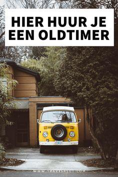 Altijd al de droom gehad om met een oldtimer een roadtrip te maken? Hier kun je een Volkswagenbusje of een andere oldtimer in Nederland huren! #volkswagenbusje #oldtimer #roadtrip #nederland #weekendjeweg New Travel, Travel Goals, Travel Tips, Top 10 Destinations, Yellow Vans, Building A Garage, Wooden House, Travel Themes, Van Life