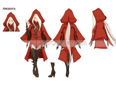 Dragon Nest -- Argenta Cosplay Costume Version 01, New Arrival Costumes, Cosplay Costumes