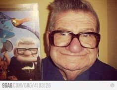 Looks just like the man from Up--- @Sarah Chintomby Beth Dannhardt Keith, the later years