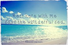 The ocean's song is my heart's melody <3