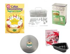 "Amazon.com: Cake King's Original ""Learn to Decorate"" Cake Decorating Kit: Kitchen & Dining"