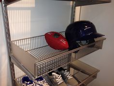 Great shoe storage idea.