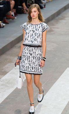 Défilé prêt-à-porter Chanel, printemps-été 2015, Paris - Mme FIGARO