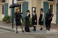 #AHS #AmericanHorrorStory - #Bitchcraft - S3 E1  Tonight at 10pm EST on the premiere of #Coven #FX :  A young girl, #ZoeBenson played by #TaissaFarmiga, is shattered to discover she possesses a strange genetic affliction tracing back to the dark days of #Salem. #Zoe is whisked away to Miss Robichaux's Academy for Exceptional Young Ladies, a mysterious school in #NewOrleans devoted to safeguarding the few remaining descendants who share this unique #bloodline.  (To read more click on image)