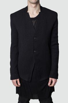 Leon Louis | Simple collar blazer
