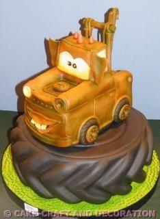 Metter Cars cake  GOLD: Francisco Henriques