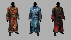 Arcania : Gothic 4 - Mages (Fire Mage - God : Inos , Water Mage - God : Adanos and Dark/Black Mage - God : Beliar)