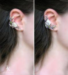 Silver branch ear cuff by JSjewelry on DeviantArt
