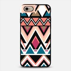 Mountain Nativo Tribal iPhone 6 Metaluxe Case by Organic Saturation | Casetify Get $10 off using code: 53ZPEA