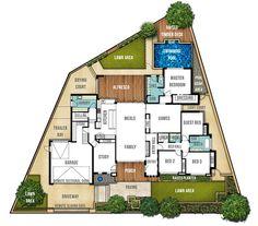 Single Storey Home Design Plan - The Carine by Boyd Design Perth