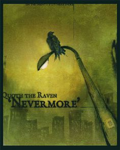 Quoth The Raven 'Nevermore' by fox-x.deviantart.com on @DeviantArt