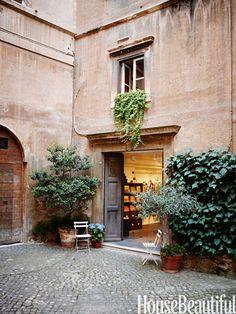 Rome Apartment Interior Design - Italian Home Decor - House Beautiful