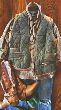 Olive & Camel Suede Vest DISCOUNT CODE: TGIF15