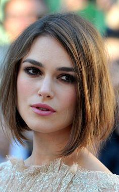 Keira Knightley Bob Haircuts for Fine Hair Haircut For Square Face, Bob Haircut For Fine Hair, Long Bob Fine Hair, Bobs For Fine Hair, Haircut Bob, Medium Hair Styles, Short Hair Styles, Hair Medium, Long Bob Hairstyles