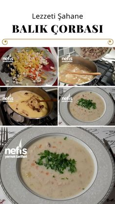 Balık Çorbası Tarifi nasıl yapılır? 1.461 kişinin defterindeki Balık Çorbası Tarifi'nin resimli anlatımı ve deneyenlerin fotoğrafları burada. Yazar: Neşe'nin Sağlıklı Mutfağı Homemade Beauty Products, Cheeseburger Chowder, Great Recipes, Cantaloupe, Good Food, Health Fitness, Fruit, Soups, Soup