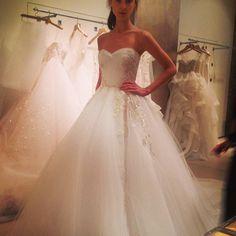 reem_acra #spring14 #bridalweek