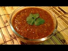 "Salsa Roja de tomatillo y chiles de arbol receta;  Easy authentic Mexican salsa for taco night! vary amount of peppers for ""spiciness control"" ;)"