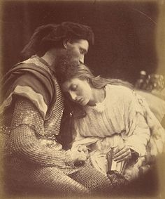 Parting of Sir Lancelot and Queen Guinevere  William Warder and May Prinsep