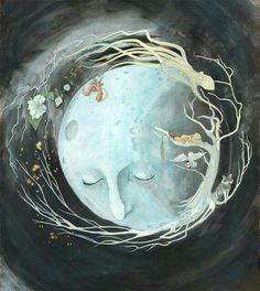 ☆ Goodnight man in the moon ☆