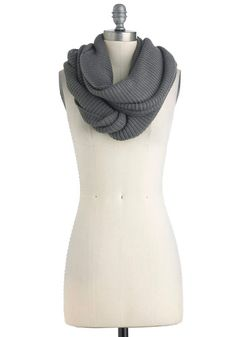 Infinity Party Scarf in Charcoal