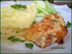 Poultry, Mashed Potatoes, Chicken Recipes, Food And Drink, Snacks, Cooking, Ethnic Recipes, Decor, Kochen
