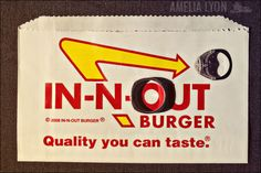 This has nothing to do with my wedding, but I LOVE In-N-Out Burger!
