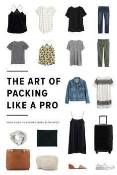 The Art of Packing Like a Pro / See and Savour