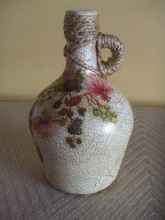 Reciclagem, garrafão em vidro