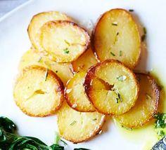Sauté potatoes with sea salt & rosemary