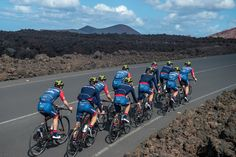 Our friends of Team Cervelo are flying their new colors and sponsors on their trainingcamp, looking good guys! A Good Man, Cycling, Bicycle, Motorcycle, Guys, Friends, Colors, Vehicles, Amigos