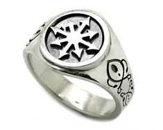 Chaos Magic, Magic Ring, Silver Work, Plating, Rings For Men, Silver Rings, Sterling Silver, Jewelry, Men Rings