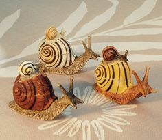 whimsical snail boxes