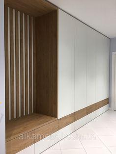 Bedroom Cupboard Designs, Wardrobe Design Bedroom, Home Room Design, Home Interior Design, House Design, Hallway Designs, Closet Designs, Flur Design, Bed Frame Design