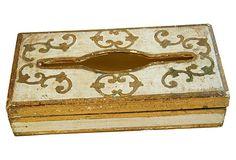 1950s Italian Florentine   Tissue   Box on OneKingsLane.com