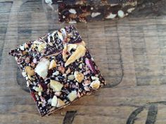Apple bark from Little Apple Granola (Flatland Flower Farm). Get it at the Saturday Ferry Plaza Farmers Market.