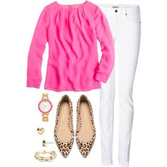 Womens Clothes Shops Ballarat round Women's Clothes At Jcpenney past Ladies Clothes Catalogue Shopping Spring Summer Fashion, Spring Outfits, Autumn Fashion, White Pants Outfit Spring Work, Casual Outfits, Cute Outfits, Fashion Outfits, Zapatos Animal Print, Preppy Style