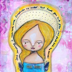 Another lovely #aura #angel  She urges some #soul searching for us all #acatlikecuriosity #whimsy #mixedmedia #art #artist #artstagram #artwork #artofinstagram #artistsofinstagram #art #quotes #quotestoliveby #quoteoftheday
