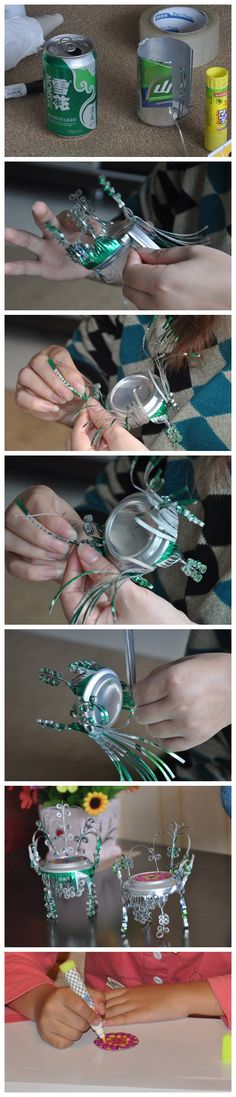 How to use the OLD cans! Be careful.