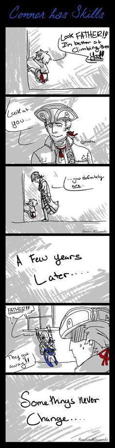 Connor has Skills Comic