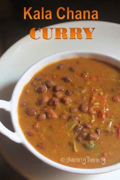 Kala Chana Masala Recipe - Black Chickpeas Curry Recipe