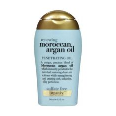 Organix Moroccan Argan Oil Renewing Penetrating Oil - this stuff is amazing for all hair types - makes your hair shiny and silky! Beauty Hair Extensions, Clip In Hair Extensions, Moroccan Hair Products, Natural Hair Care, Natural Hair Styles, Best Hair Care Products, Beauty Products, Beauty Secrets, Hair Treatments
