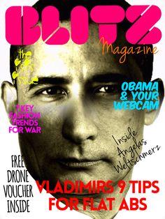 create a magazine covers
