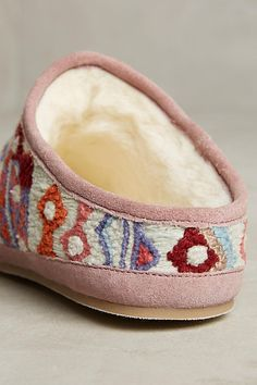 f7910b90f17 Embroidered Caro Slippers